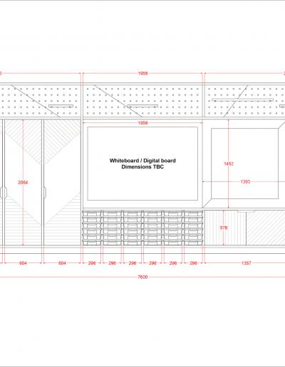 Teacher Wall - Design Option B Front